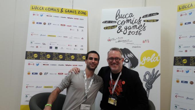 Simone Bonaccorso con Tony DiTerlizzi