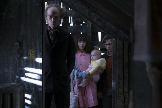 Il Conte Olaf e gli orfani Baudelaire