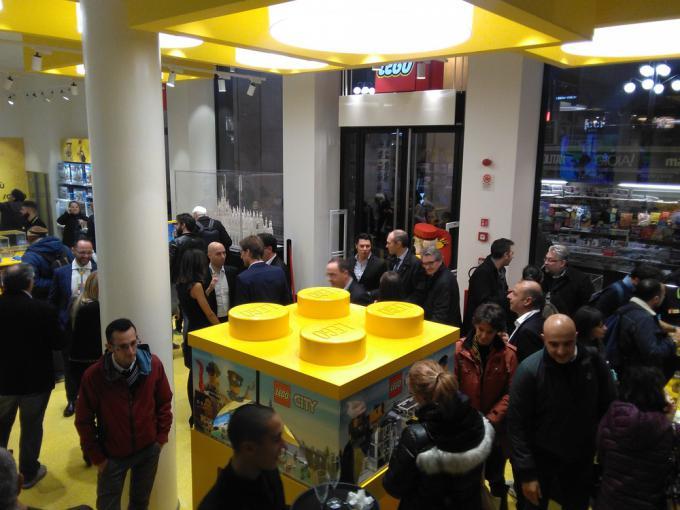 Il nuovo LEGO Store di Milano