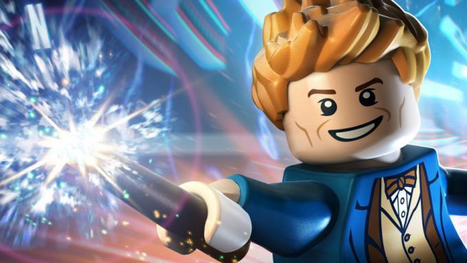 Newt Scamander in versione LEGO