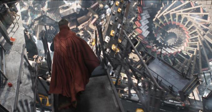 Mondi Escheriani in Doctor Strange
