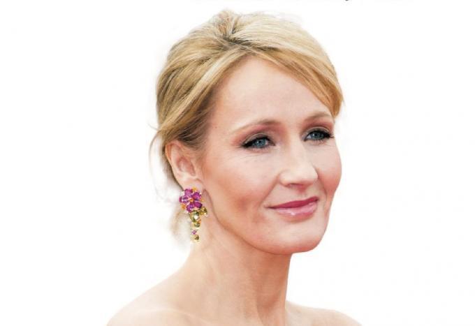 J.K Rowling dalla copertina diJ.K. Rowling: l'incantatrice di 450 milioni di lettori