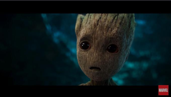 Baby Groot nel primo teaser trailer di Guardiani della Galassia Vol.2