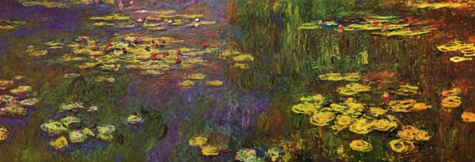"Le Ninfee di Monet, The Yorck Project: <i>10.000 Meisterwerke der Malerei.</i> DVD-ROM, 2002. <a href=""https://commons.wikimedia.org/wiki/Special:BookSources/3936122202"">ISBN 3936122202</a>. Distributed by <a href=""https://commons.wikimedia.org/wiki/Commons:10,000_paintings_from_Directmedia"">DIRECTMEDIA</a> Publishing GmbH."