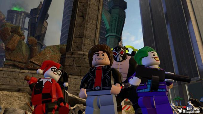 Harley Quinn, Michael Knight e il Joker