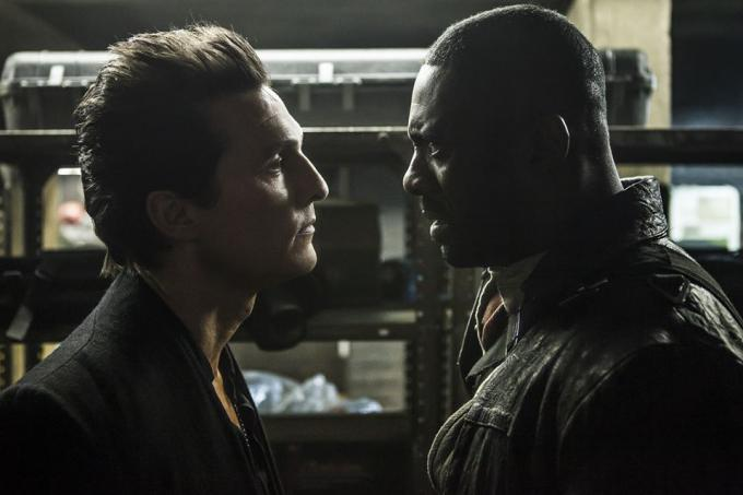 Matthew McConaughey e Idris Elba in La Torre Nera