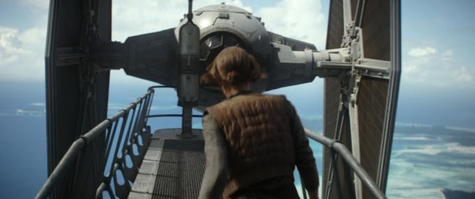 Una immagine non montata diRogue One: A Star War Story
