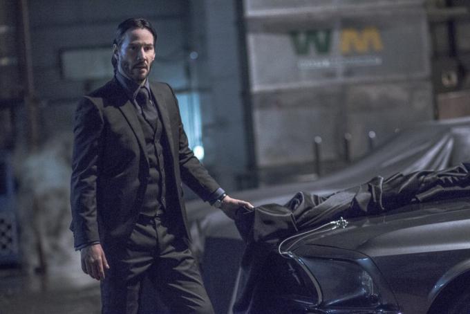 Keanu Reeves in John Wick - Capitolo 2
