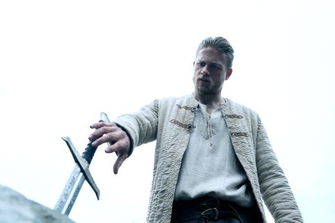 Charlie Hunnam in King Arthur: The Legend of Sword