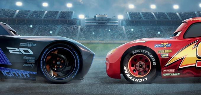 Dettaglio del poster di Cars 3