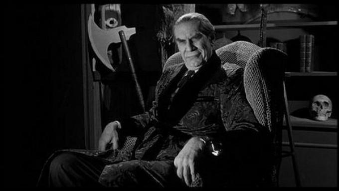 Martin Landau è Bela Lugosi in Ed Wood