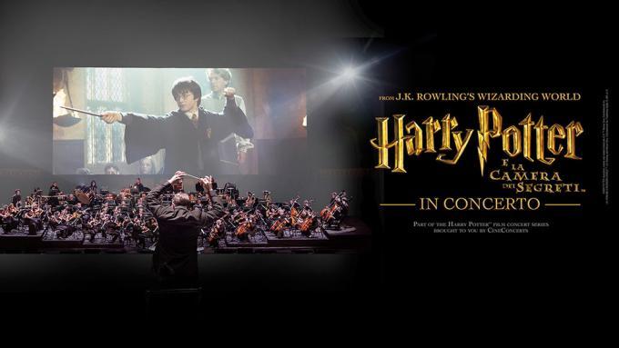 Harry Potter e la camera dei segreti, il cine-concerto