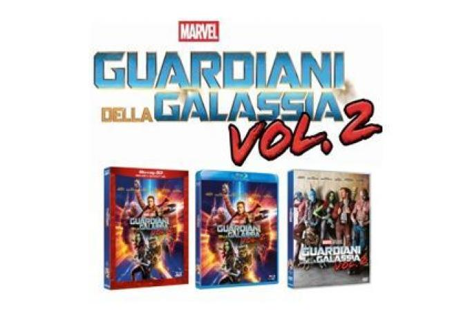 Guardiani della Galassia vol. 2 in home video