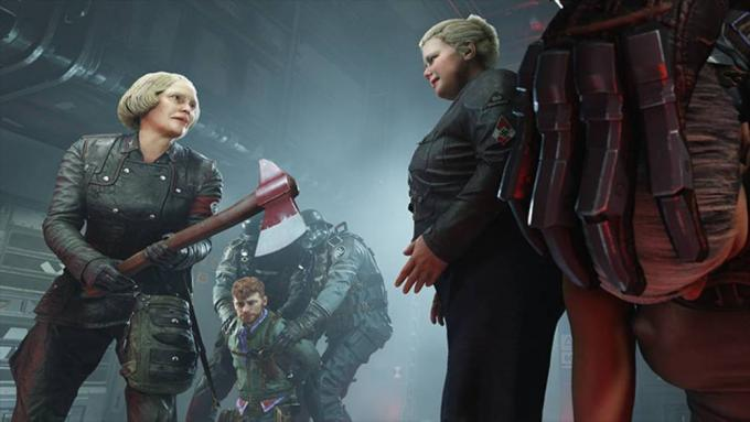 Frau Engel e figlia di Wolfenstein II: The New Colossus