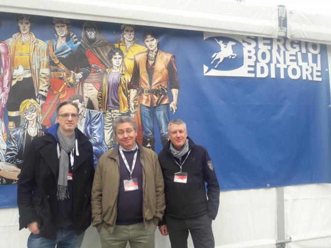 Riccardo Crosa, Luca Enoch e Stefano Vietti a Lucca Comics & Games