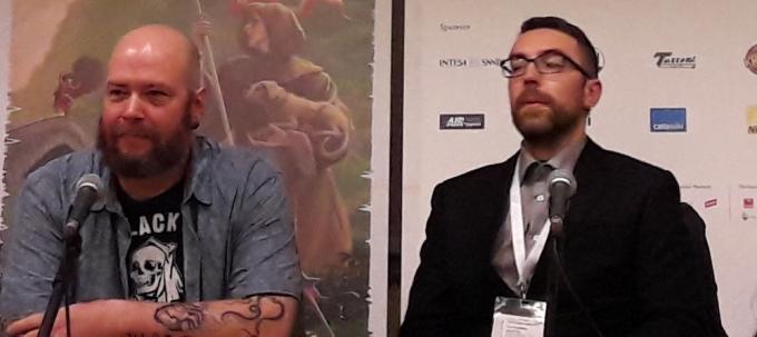 Jason Aaron a Lucca Comics & Games