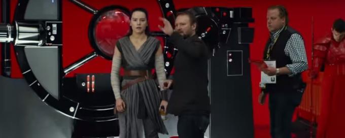 Rian Johnson set di Star Wars: Gli ultimi Jedi