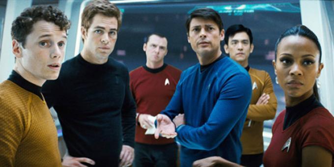 Il cast di Star Trek di J.J. Abrams, uno dei più contestati remake degli ultimi anni.