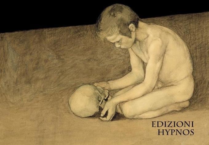"""Illustrazione di Ivo Torello (elaborazione di """"Boy with Skull"""" di Magnus Enckell)"""
