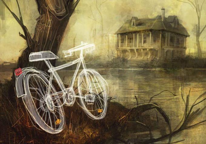 Nightbird - Illustrazione di Giulio Rincione