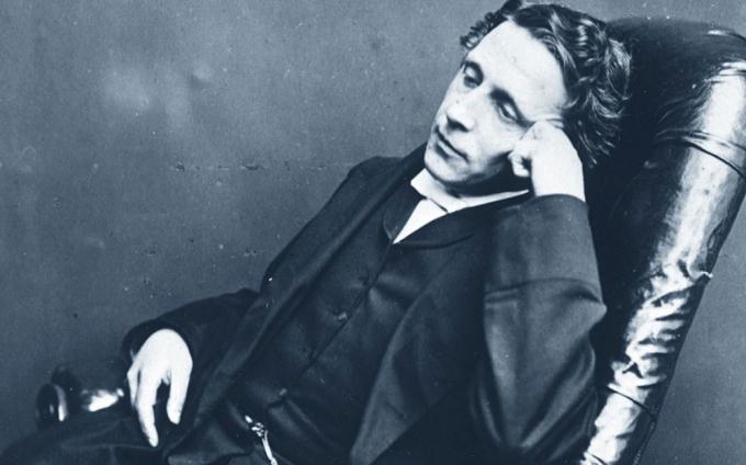 Lewis Carroll, pseudonimo di Charles Lutwidge Dodgson (Daresbury, 27 gennaio 1832 – Guildford, 14 gennaio 1898)