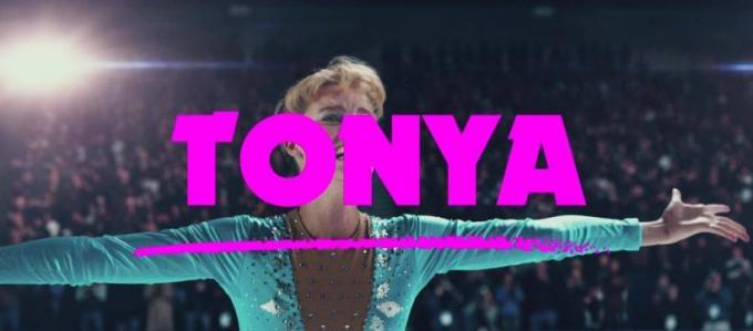 Margot Robbie in Tonya.