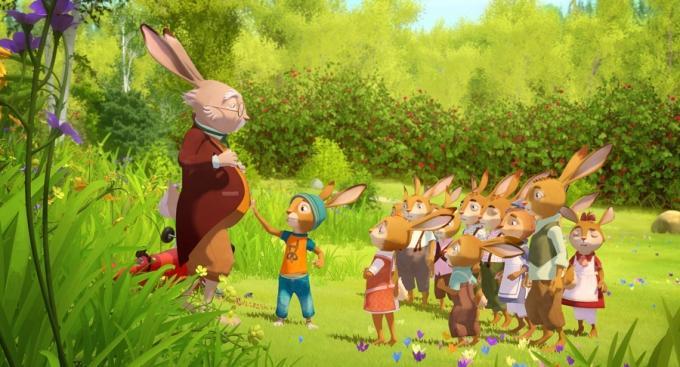 Rabbit School I guardiani dell'Uovo d'Oro.