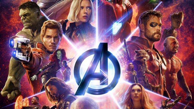 Il poster IMAX di Avengers: Infinity War