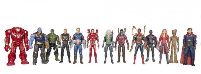 Le action figure di Avengers: Infinity War