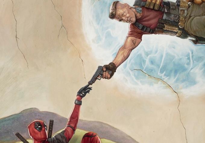 Deadpool 2 - Dettaglio del teaser poster
