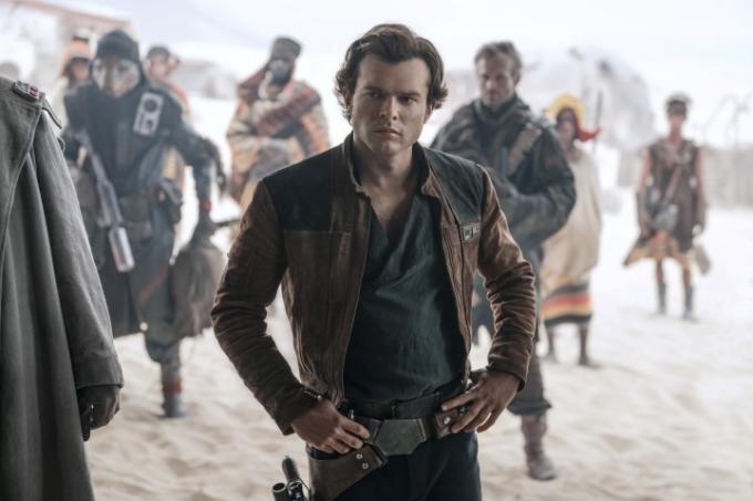 Alden Ehrenreich è Han Solo