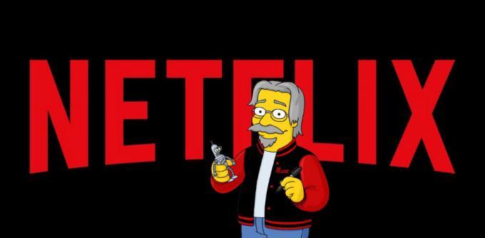 Matt Groening su Netflix