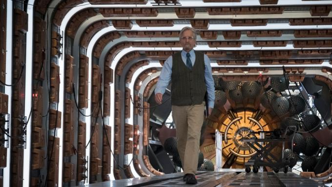 Michael Douglas in Ant-Man and The Wasp