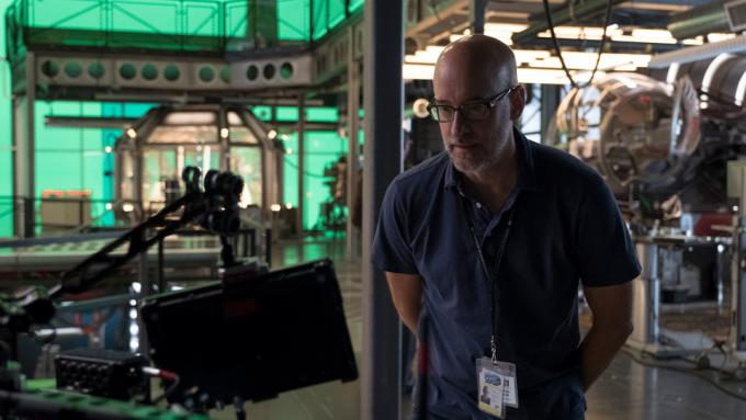 Peyton Reed sul set di Ant-Man and The Wasp