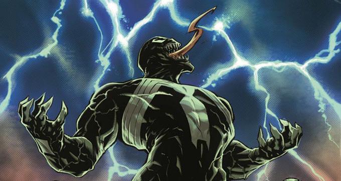 Illustrazione per Venom n.1 a opera di Ryan Stegman