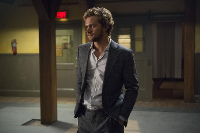 Finn Jones è Danny Rand/Iron Fist nella serie TV <i>Iron Fist.</i>