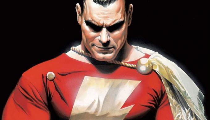Shazam disegnato da Alex Ross