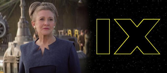 Carrie Fisher è Leia Organa, in Star Wars: Il risveglio della Forza (2015).