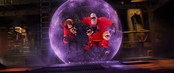 Gli Incredibili 2: una normale famiglia di supereroi