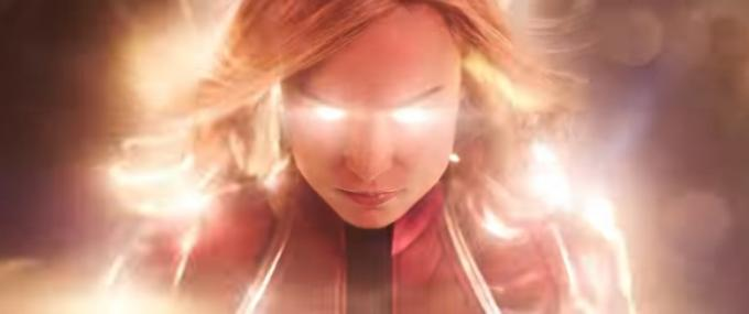 Brie Larson in Captain Marvel