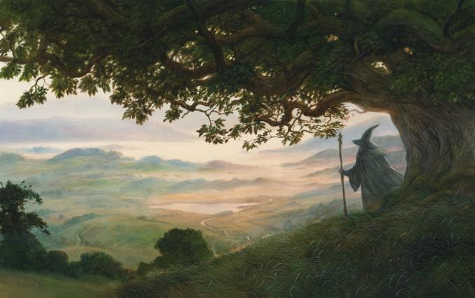Middle Earth Traveller Cover - John Howe_© John howe-Courtesy of HarperCollinsPublishers