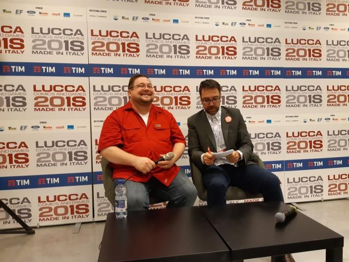 C.B. Cebuski, Editor-In-Chief Marvel, a Lucca Comics & Games