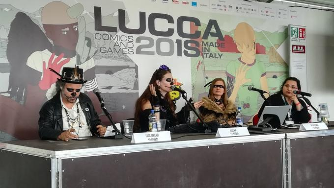 Luca Tarenzi, Aislinn, Julia Sienna ed Helen Cornell