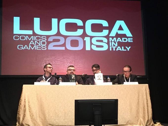 Fabrizio Furchi, Adriano Barone,Fabio Guaglione e Maurizio Temporin