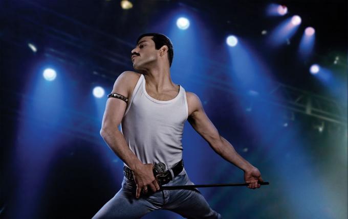 Rami Malek è Freddie Mercury inBohemian Rhapsody