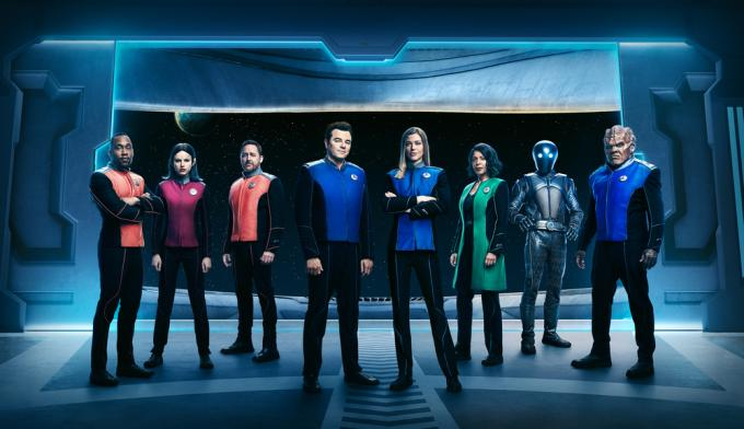 Il cast di The Orville