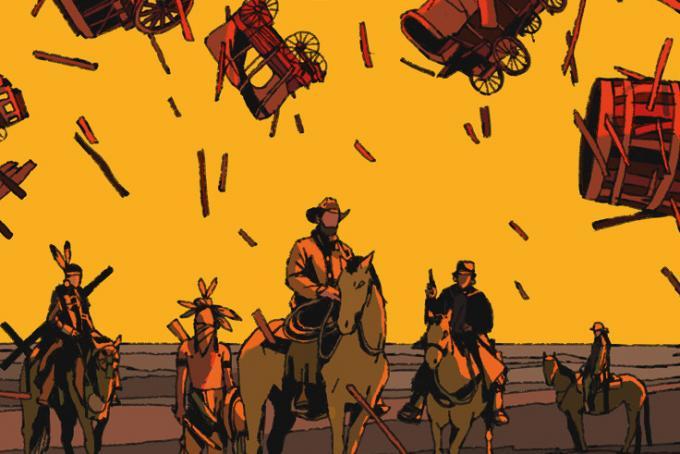 Black Hills - Illustrazione di copertina di Jacopo Starace