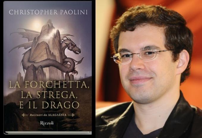 La forchetta, la strega e il drago - Christopher Paolini a Lucca Comics & Games 2010 - Foto di Niccolò Caranti - CC BY-SA 3.0