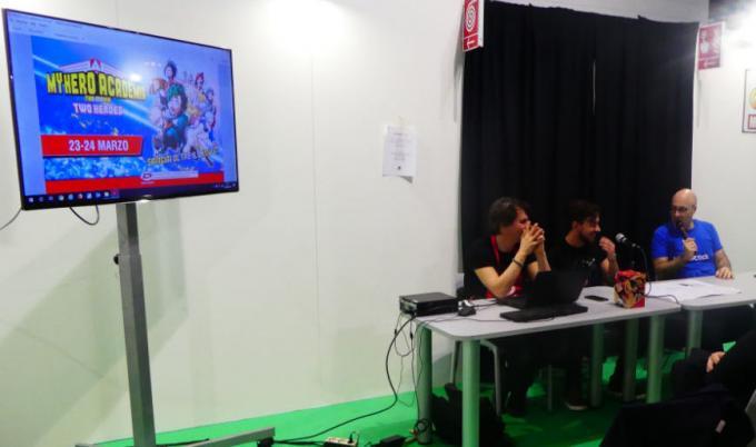 Carlo Cavazzoni Simon Lupinacci ospiti di AnimeClick a Cartoomics 2019 per parlare di My Hero Academia.