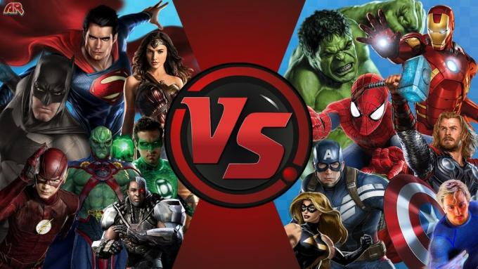 Avengers vs Justice League (Immagine: AnimationRewind)